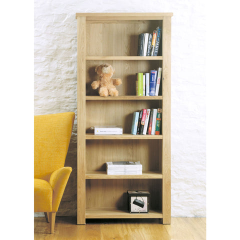 Aston Oak Large Open Bookcase CVR01A