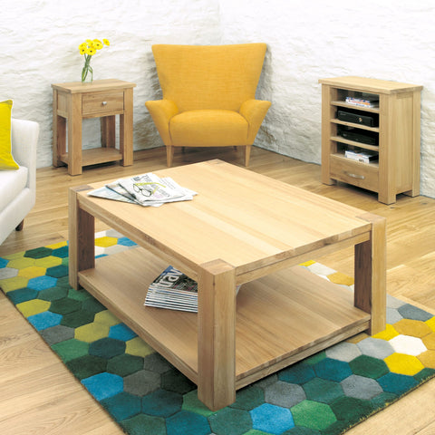 Aston Oak Coffee Table Large CVR08B