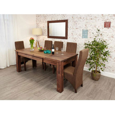 Mayan Walnut Extending Dining Table CWC04A