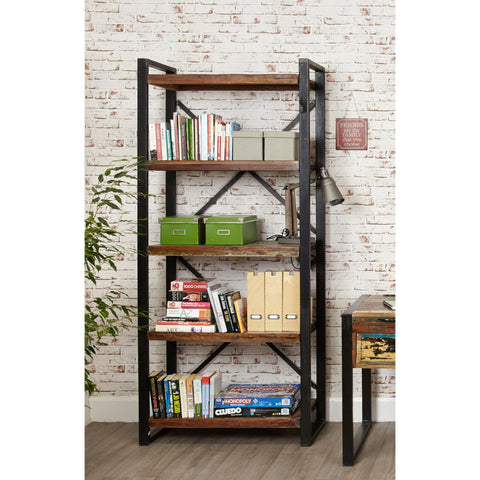 Urban Chic Large Open Bookcase IRF01B