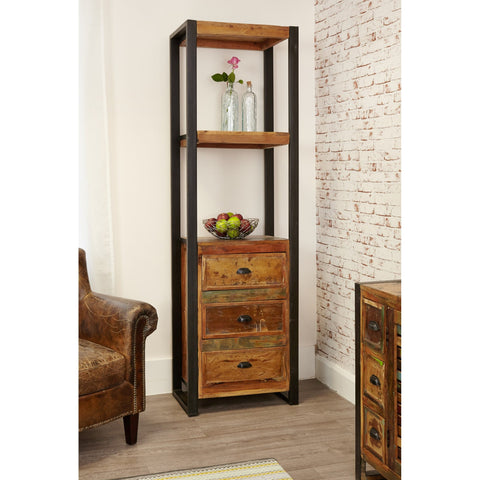 Urban Chic Alcove Bookcase (with drawers) IRF01D