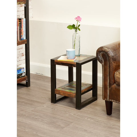 Urban Chic Low Plant Stand / Lamp table IRF10E
