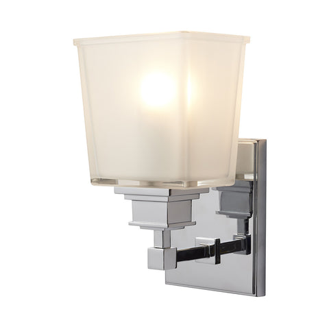 Elstead Aylesbury 1 Light Polished Chrome Wall Light BATH/AY1