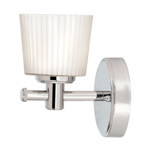 Elstead Binstead 1 Light Polished Chrome Wall Light BATH/BN1