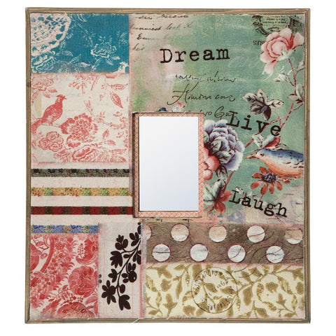 Dream Live Laugh Vintage Mirror DEA-129