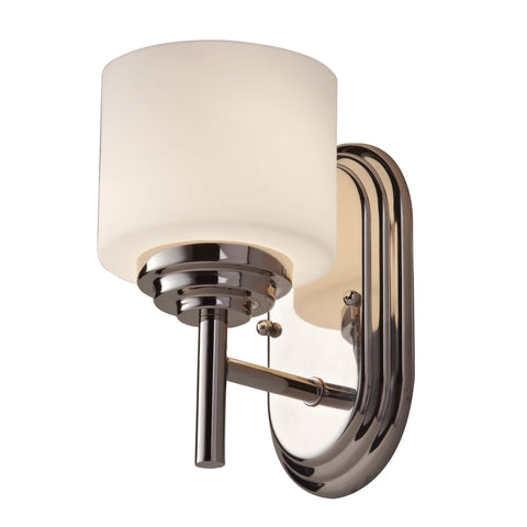 Feiss Malibu 1 Light Polished Chrome Wall Light FE/MALIBU1 BATH