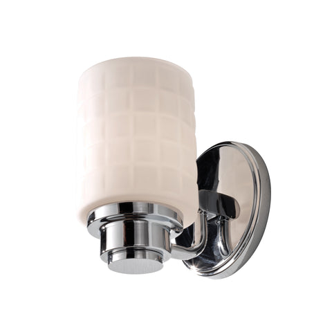 Feiss Wadsworth 1 Light Polished Chrome Wall Light FE/WADSWTH1 BATH