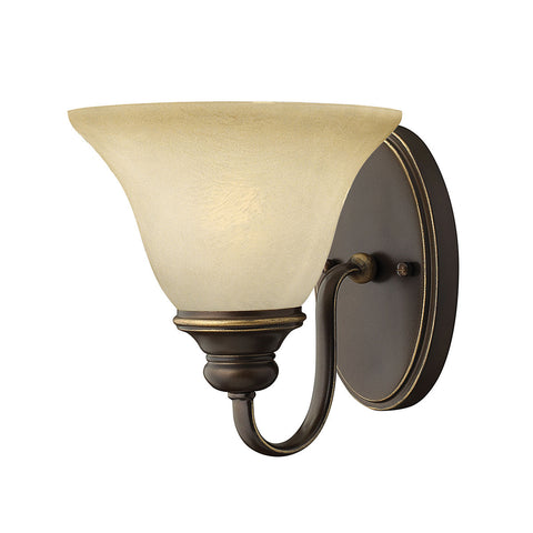 Hinkley Cello 1 Light Antique Bronze Wall Light HK/CELLO1
