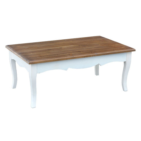 Transylvania Large Natural Polished Wooden Coffee Table INF-1012L-AW