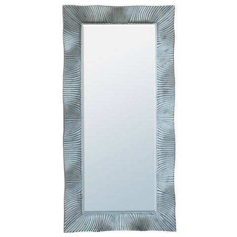 Antique Silver Frame Floor Standing Mirror MIF-023-SL