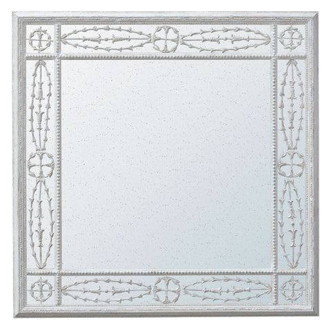 House Cream Frame Vintage Wall Mirror MIW-024-CR