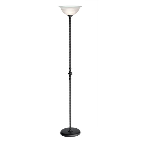 Elstead Pembroke 1 Light Black Floor Uplighter PB/UL BLACK