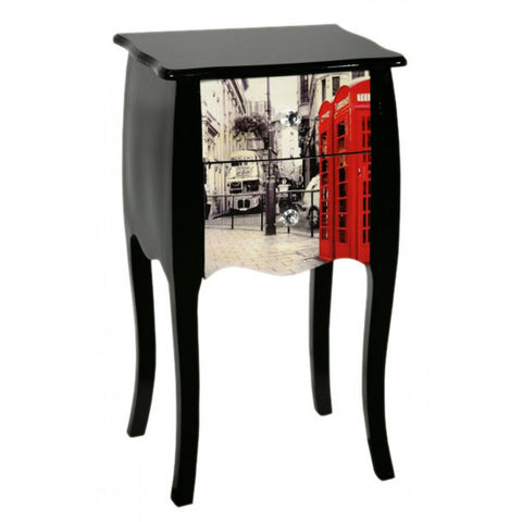 Lounge Lizard London High Gloss 2 Drawer Bedside Cabinet PC29127