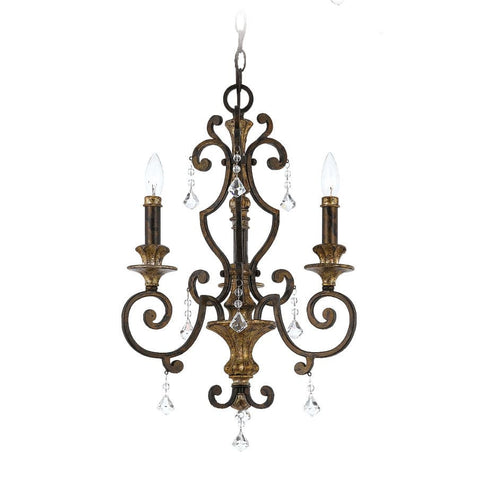 Quoizel Marquette 3 Light Heirloom Candle Chandelier QZ/MARQUETTE3