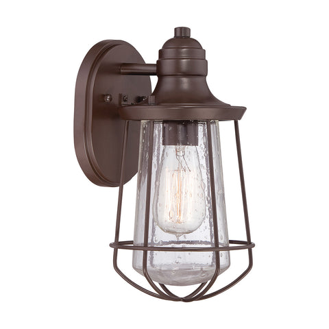Quoizel Marine 1 Light Western Bronze Wall Light QZ/MARINE/P