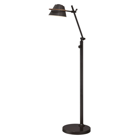 Quoizel Spencer 1 Light Western Bronze Floor Lamp QZ/SPENCER/FL WT
