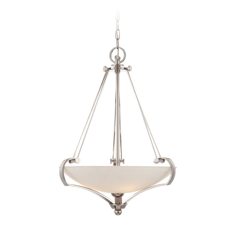 Quoizel Sutton Place 4 Light Imperial Silver Pendant Light QZ/SUTTON PL/P
