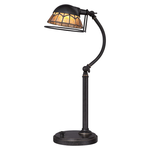 Quoizel Whitney 1 Light Imperial Bronze Desk Lamp QZ/WHITNEY/TL