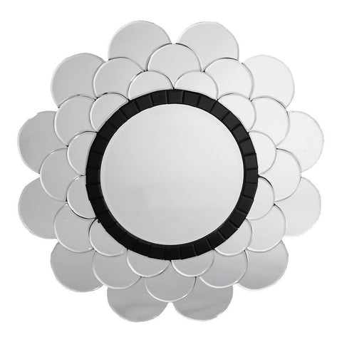 Contemporary Sunburst Cloud Venetian Mirror VEN-M-7725
