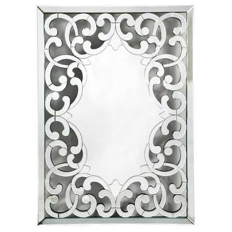 Contemporary Venetian Fretted Rocaille Mirror VM410