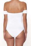 The Erika One Piece - Classic White