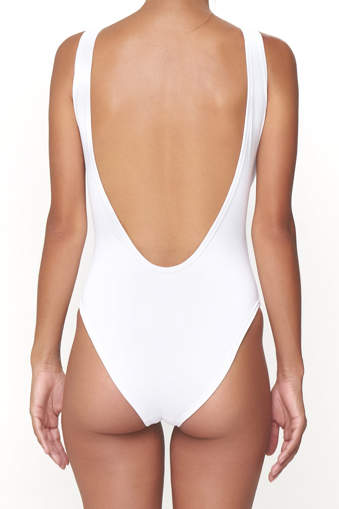 The Pamela One Piece - Classic White