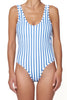 The Pamela One Piece - Twilight Stripe