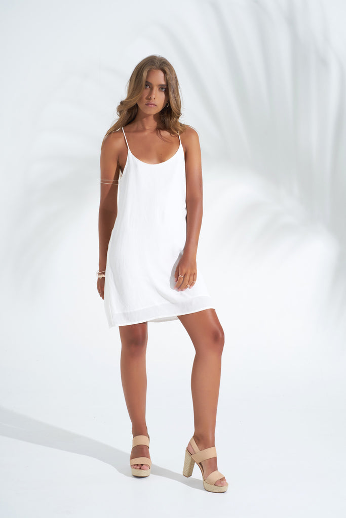 Dress Stevie Mini - White