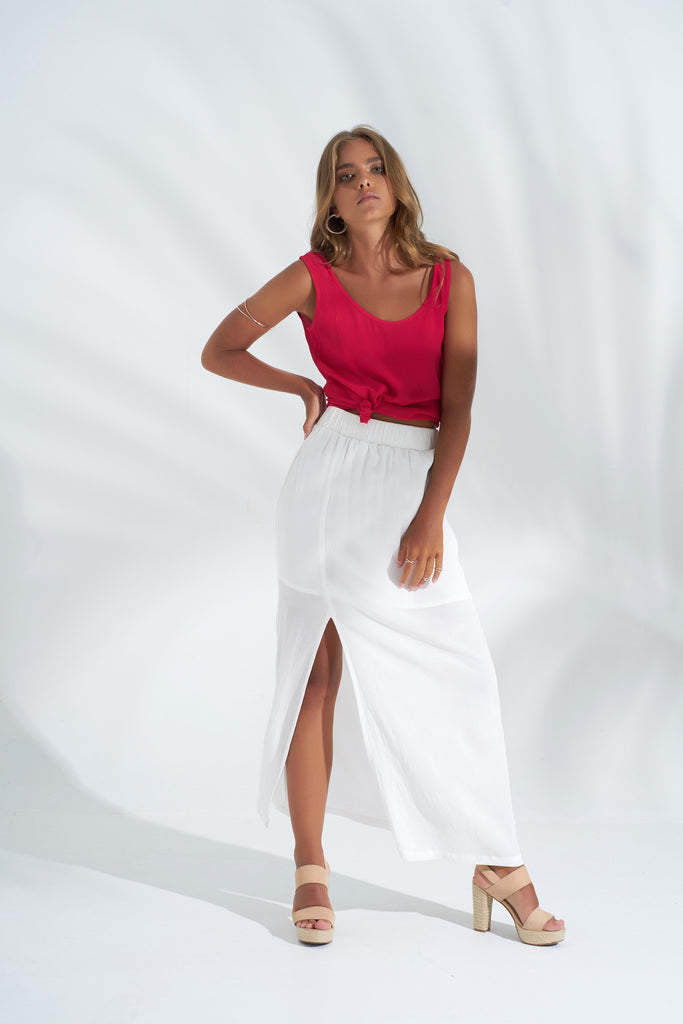 Skirt Jolie -White