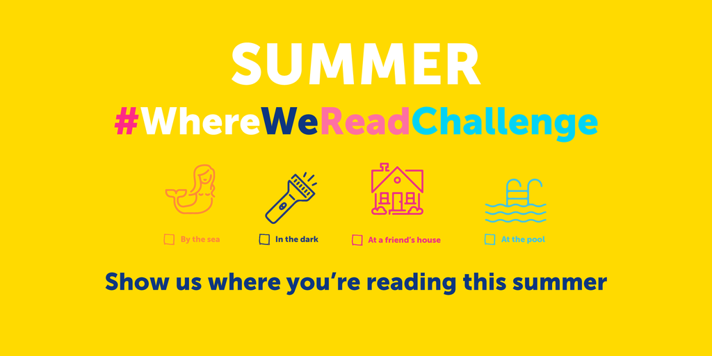 Summer #WhereWeReadChallenge Begins Now!