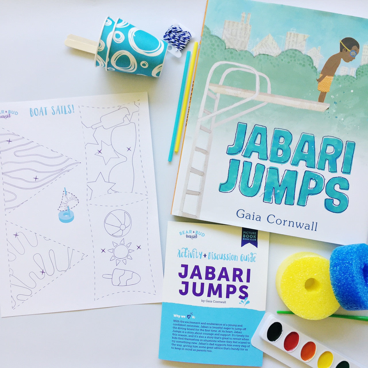 Single Box - with Jabari Jumps, Picture Book