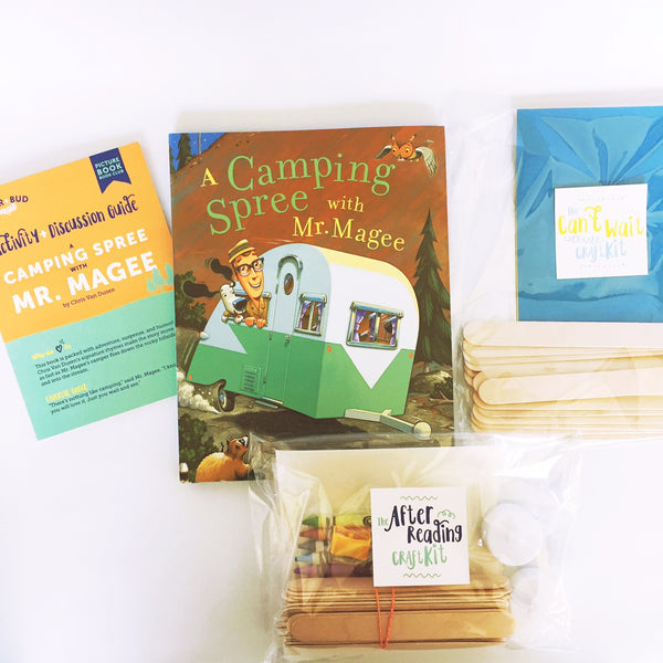 Single Box - A Camping Spree with Mr. Magee, Picture Book