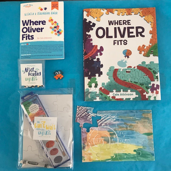 Single Box - Where Oliver Fits, Picture Book