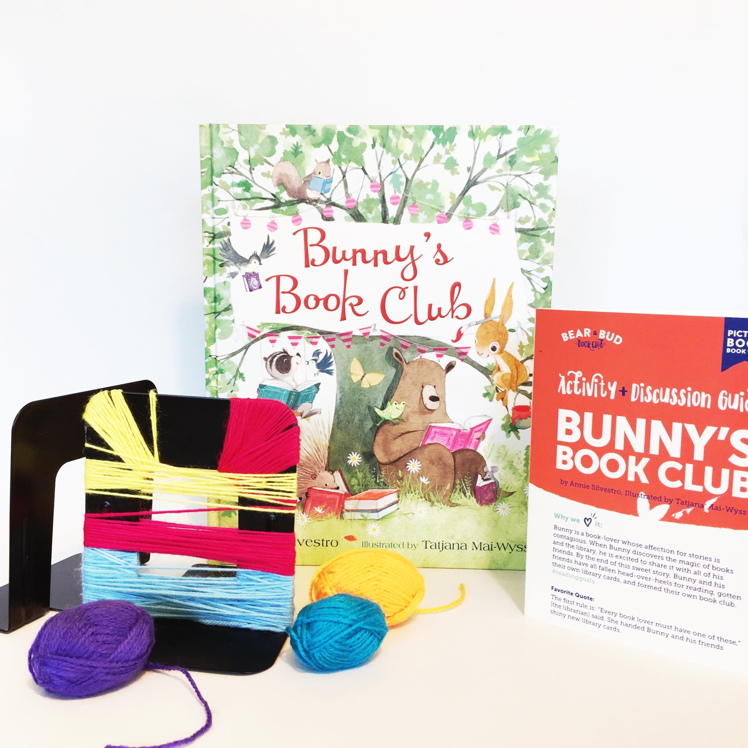 Single Box - with Bunny's Book Club, Picture Book