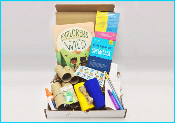 Single Box - with Explorers of the Wild, Picture Book