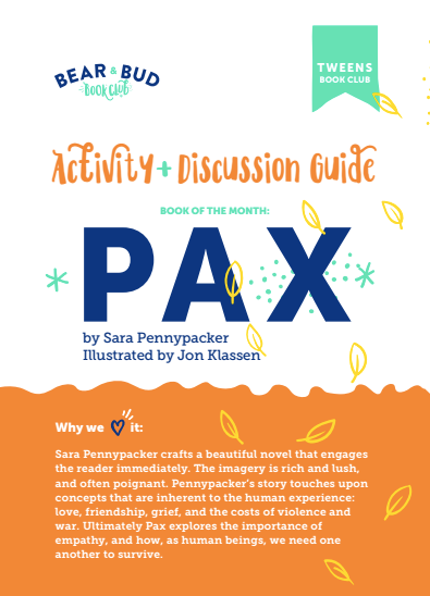Pax Activity Guide
