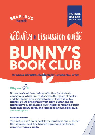 Bunny's Book Club Guide