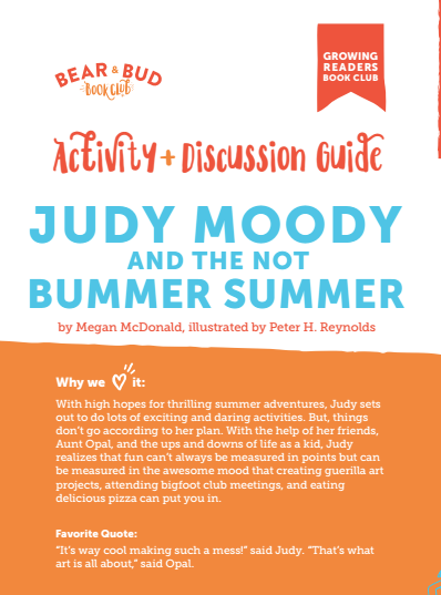 Judy Moody and the Not Bummer Summer Guide