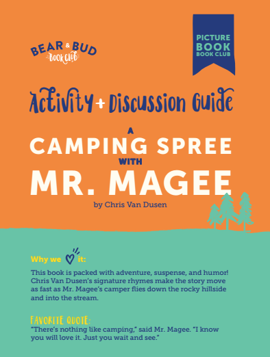 A Camping Spree with Mr. Magee Guide