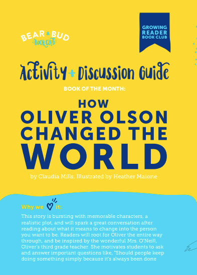 Oliver Olsen Activity Guide