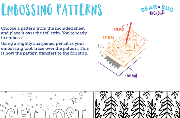 Gone Camping: Poetry Tin Embossing Craft