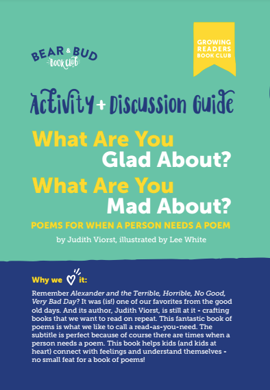 What are You Glad About? What are You Mad About? Guide