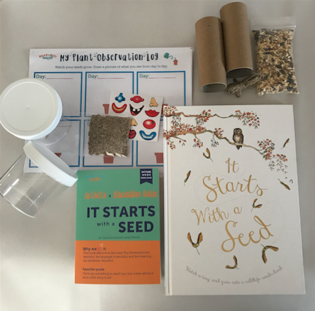 Single Box - It Starts with a Seed, Picture Book