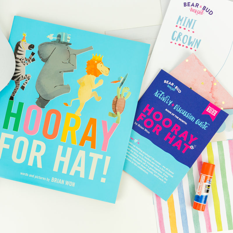 Single Box - with Hooray For Hat, Picture Book