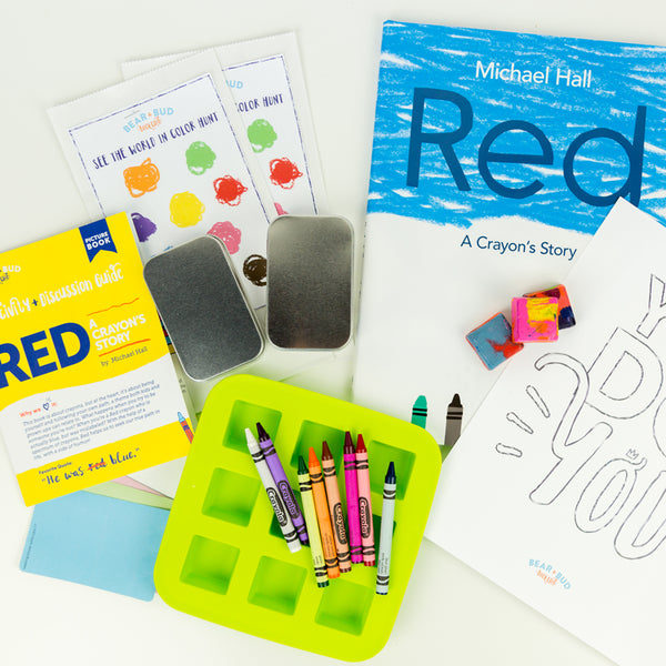 Single Box - with Red: A Crayon's Story, Picture Book