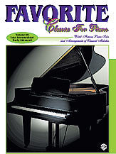 Favorite Classics for Piano, Volume 3 00-0323B   upc 029156961911