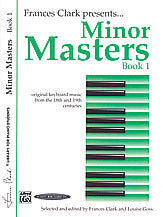 Minor Masters, Book 1 00-1005X   upc 029156659924