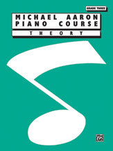 Michael Aaron Piano Course: Theory, Grade 3 00-11003TH   upc 029156135473