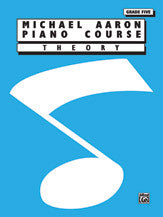 Michael Aaron Piano Course: Theory, Grade 5 00-11005TH   upc 029156153262