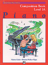 Alfred's Basic Piano Course: Composition Book 1A 00-14510   upc 038081126944